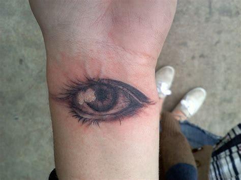 eyeshadow tattoo 41 best eye tattoos for wrist