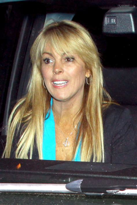 Dina Lohan Still The Best by Dina Lohan In Dina Lohan Leaves Chateau Marmont Zimbio