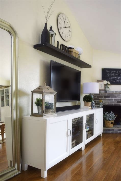 home decor tv ways to use ikea besta units in home decor digsdigs
