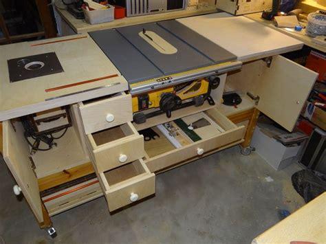 woodworking shop benches dewalt dw745 station google zoeken diy pinterest