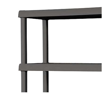 sterilite 5 shelf shelving unit gray 01553v01