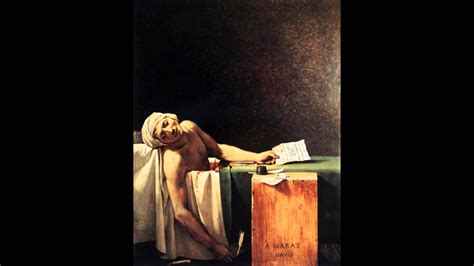 marat song death of marat by jacques louis david youtube