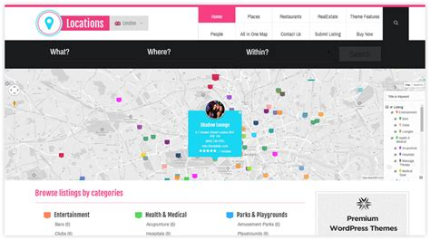 themes wordpress location locations wordpress theme locations responsive directory