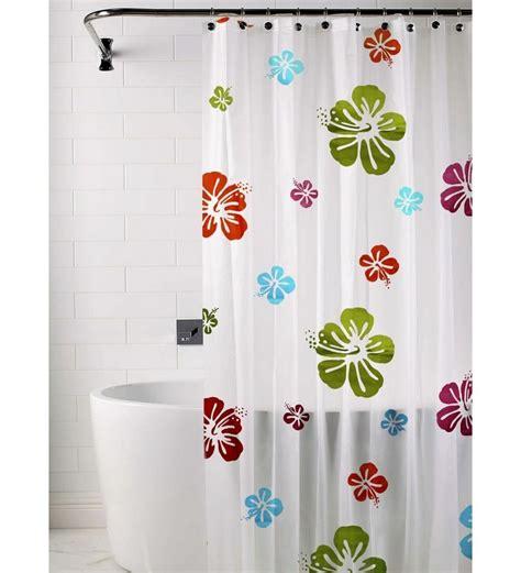 shower curtains floral print skipper white floral print shower curtain by skipper