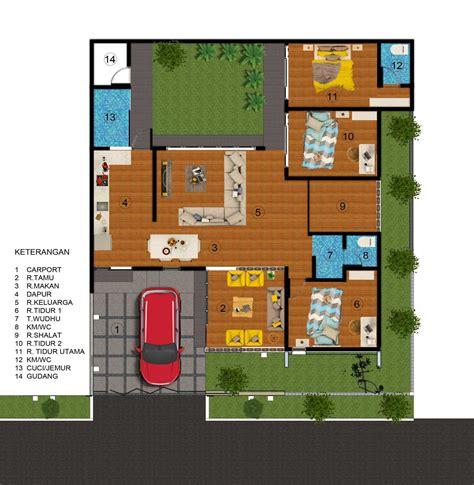 desain dapur ideal desain belakang rumah type 45 sketsa rumah tipe 45 90