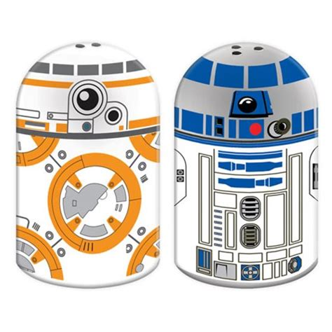 R2 D2 Relegated To Pepper by Wars Bb 8 And R2 D2 Sculpted Salt And Pepper Set