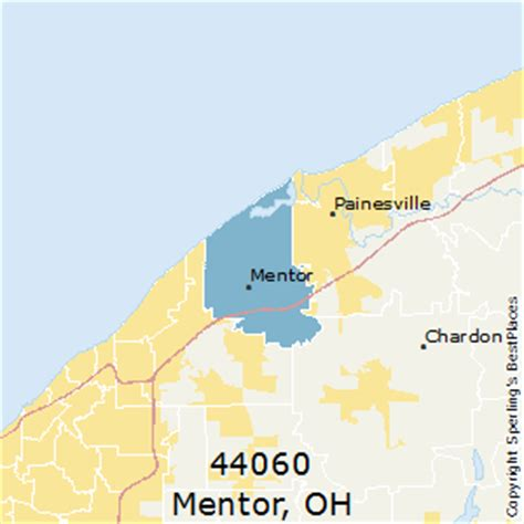 best places to live in mentor zip 44060 ohio
