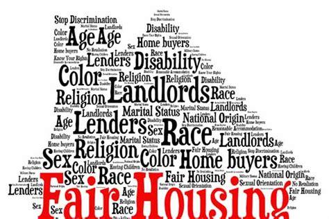 Fair Housing Act Criminal Record Boston Area Real Estate News Fair Housing Gets Fairer