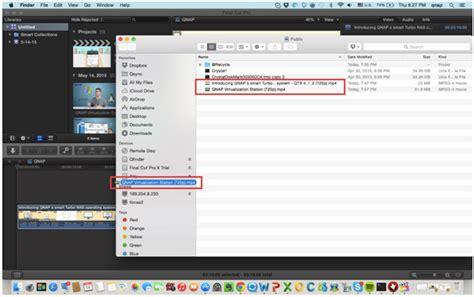 final cut pro nas final cut pro x と thunderbolt 対応 nas を利用して動画編集を能率化する方法