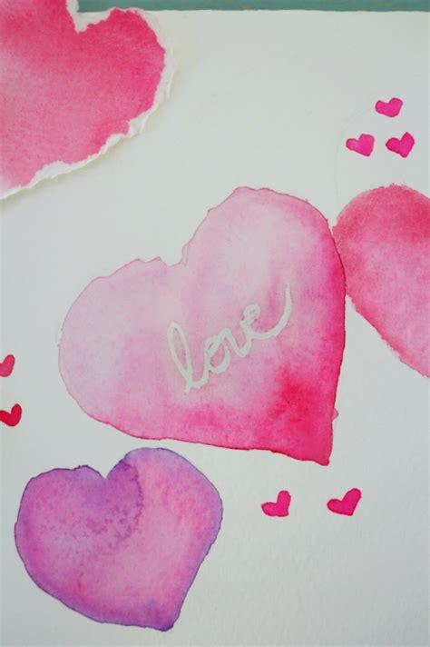 watercolor heart tutorial valentine heart watercolor tutorial craftberry bush