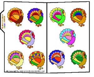 turkey colors preschool printables file folder turkey lurkey
