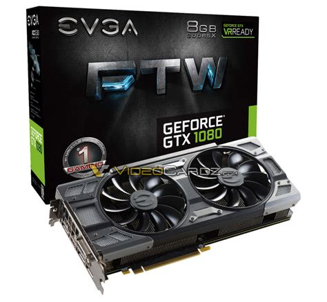 Vga Gtx 1080 Evga Gtx 1080 Ftw And Superclocked Models With All New