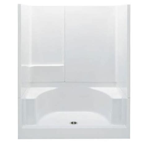 Home Depot Shower Stall by Aquatic 34 In X 60 In X 72 In Gelcoat Remodeline 3