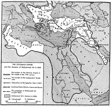muhammad ali ottoman empire the ottoman empire 1840 full size
