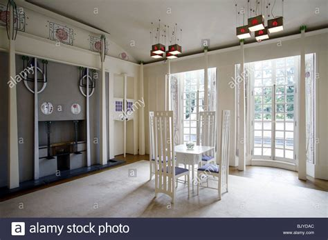 the livingroom glasgow charles rennie mackintosh house for an lover the room stock photo royalty free
