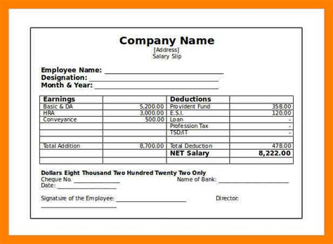 independent contractor pay stub template 9 independent contractor pay stub template emt resume