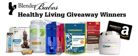Healthy Giveaways - winners 183