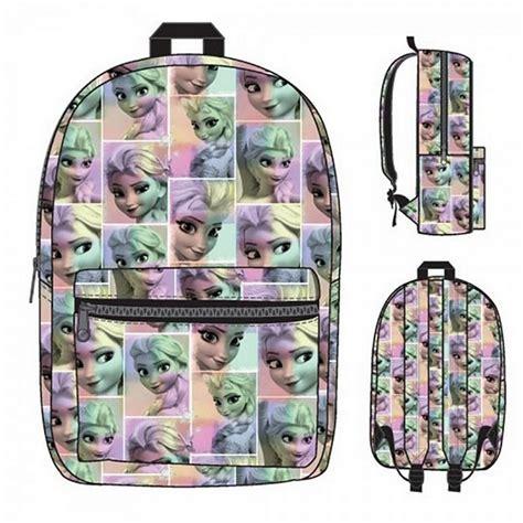 game design your frozen bag disney frozen pastel all over print frozen elsa backpack