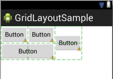 gridlayout layout gravity using the android gridlayout manager in the graphical