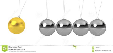 swinging pendulum balls ball pendulum stock illustration illustration of motion