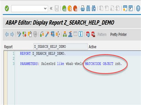 Search Help New Features In Abap 7 4 Enhanced Search Helps It Partners