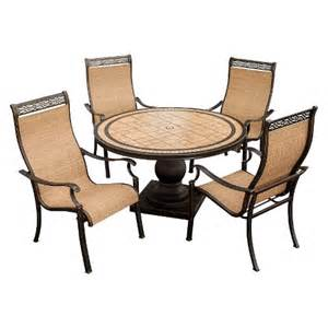 Sling Patio Furniture Sets Monaco 5 Sling Patio Dining Furniture Set Target