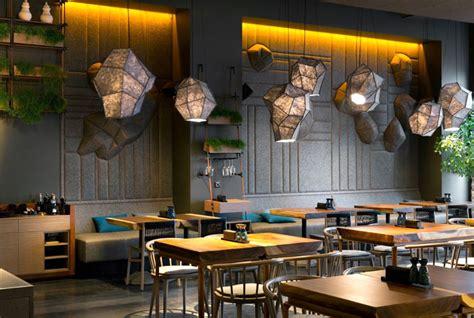 Restaurant Decorations by Attractive Restaurant Decor In Kiev By Yod Design Studio