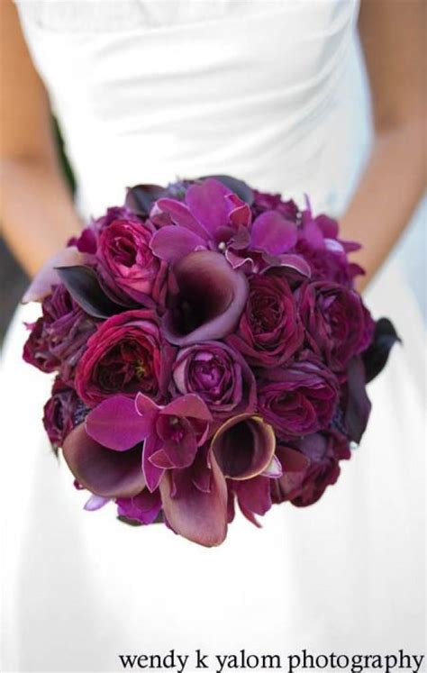 different shades of purple flower beautiful bouquet 2144426 weddbook