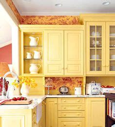 Orange Kitchen Wallpaper by 1000 Images About Yellow Kitchens On Yellow