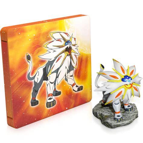 Nintendo Sun pok 233 mon sun steelbook solgaleo figurine nintendo