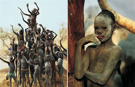 imagenes uñas tribal powerful photographs show the daily life of the dinka