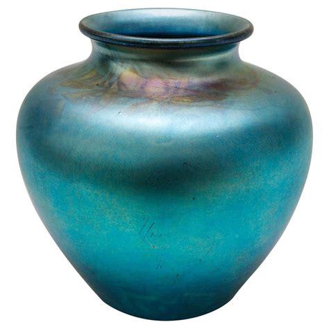 Steuben Vase Value blue aurene glass vase by frederick carder for steuben