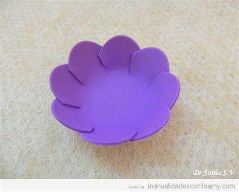 c 243 mo hacer flores de goma eva paso a paso bloghogar com como hacer una flor de loto en goma flores manualidades
