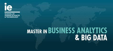 Master In Business Analytics Vs Mba by Discover Our Master In Business Analytics And Big Data
