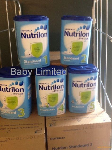 Formula Nutrilon 2015 nutrilon baby milk powder standaard 1 2 3 4 5 products