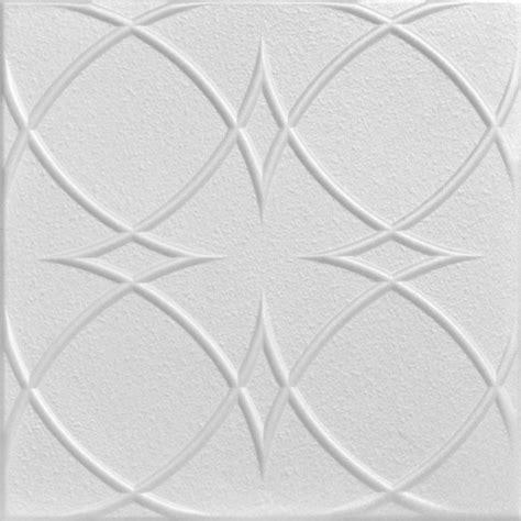 Decorative Styrofoam Ceiling Tiles by Circles And Styrofoam Ceiling Tile 20 Quot X20 Quot
