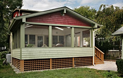 garage with screened porch washington dc custom garage porch remodeling designers