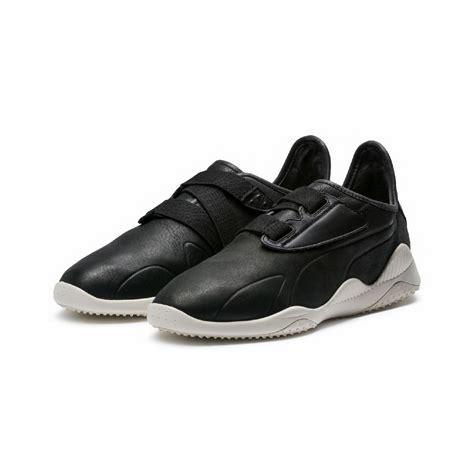 low top sneakers mens mens mostro premium low top sneakers black