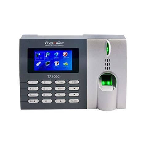 fingertec ta100c fingerprint biometric system price