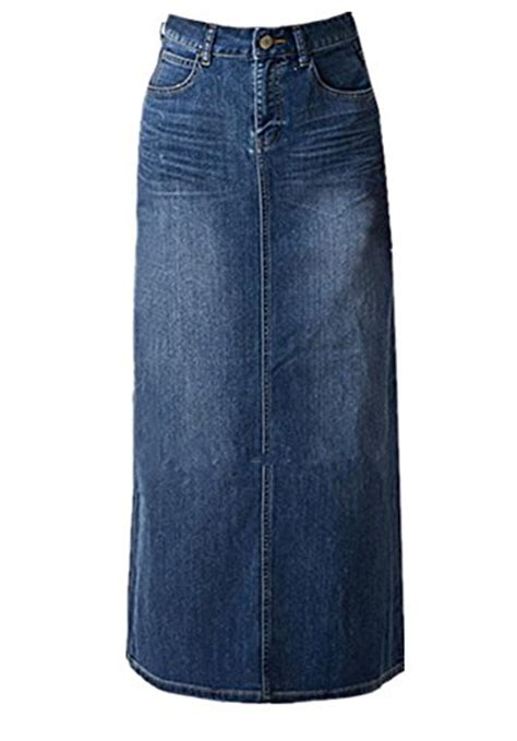 which style of modest denim skirts should you buy next