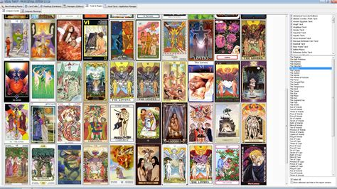 tarot cards tarot cards deck list www pixshark images