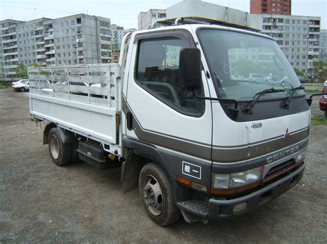 mitsubishi truck 1998 canter truck sale double cabin 4wd japan import jpn car