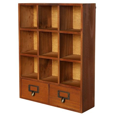 storage cabinet with drawers and shelves storage cabinet shelves showcase wooden display drawers shadow box vintage new ebay