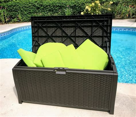 deck storage boxes  protect  outdoor furniture