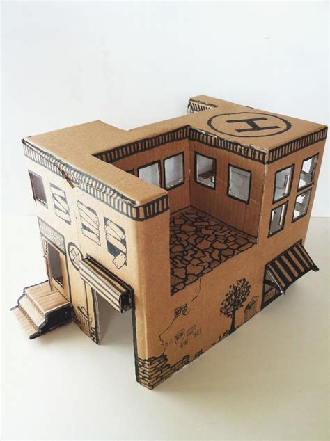 cardboard house instruction from mom how to make a simple toy house from