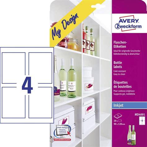 Etiketten Drucken Graz by Tintenstrahl Flaschenetiketten Avery Zweckform My Design