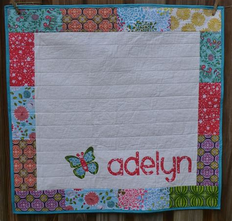 Personalised Baby Quilt by Best 38 Personalized Baby Quilts Images On Diy