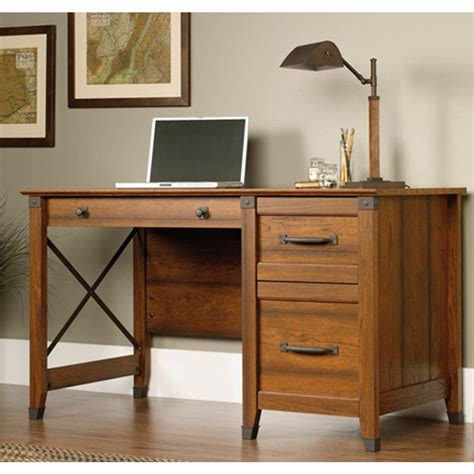 rustic home office desk dario desk sundried ash rustic