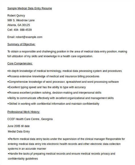sensational resume format for data entry 5 data entry resume templates pdf doc free premium templates