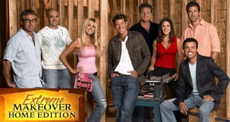 home makeover shows abc cancels extreme makeover home edition as regular